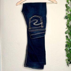 Silver Jeans Suki Mid Boot dark wash size 27